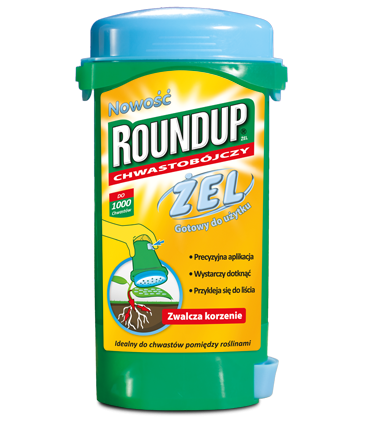 ROUNDUP chwastobójczy ŻEL 140ml Substral